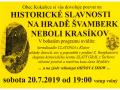Historické slavnosti na Krasíkově