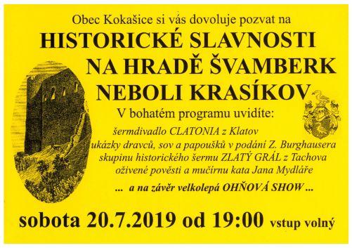 Historické slavnosti naKrasíkově